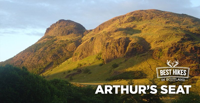 arthurs seat - Best Hikes in Scotland