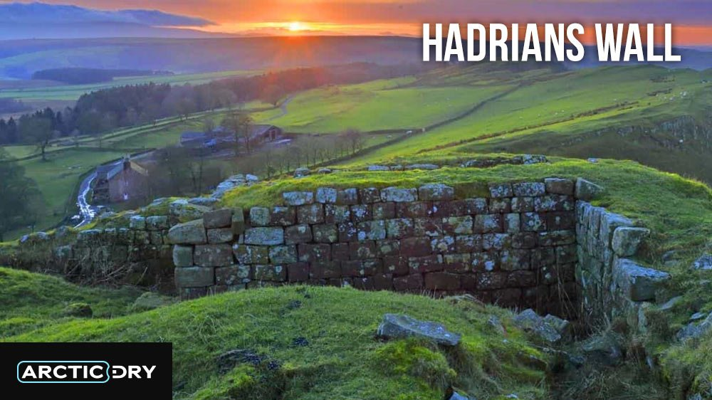 Best Hikes in the UK - Hadrians Wall