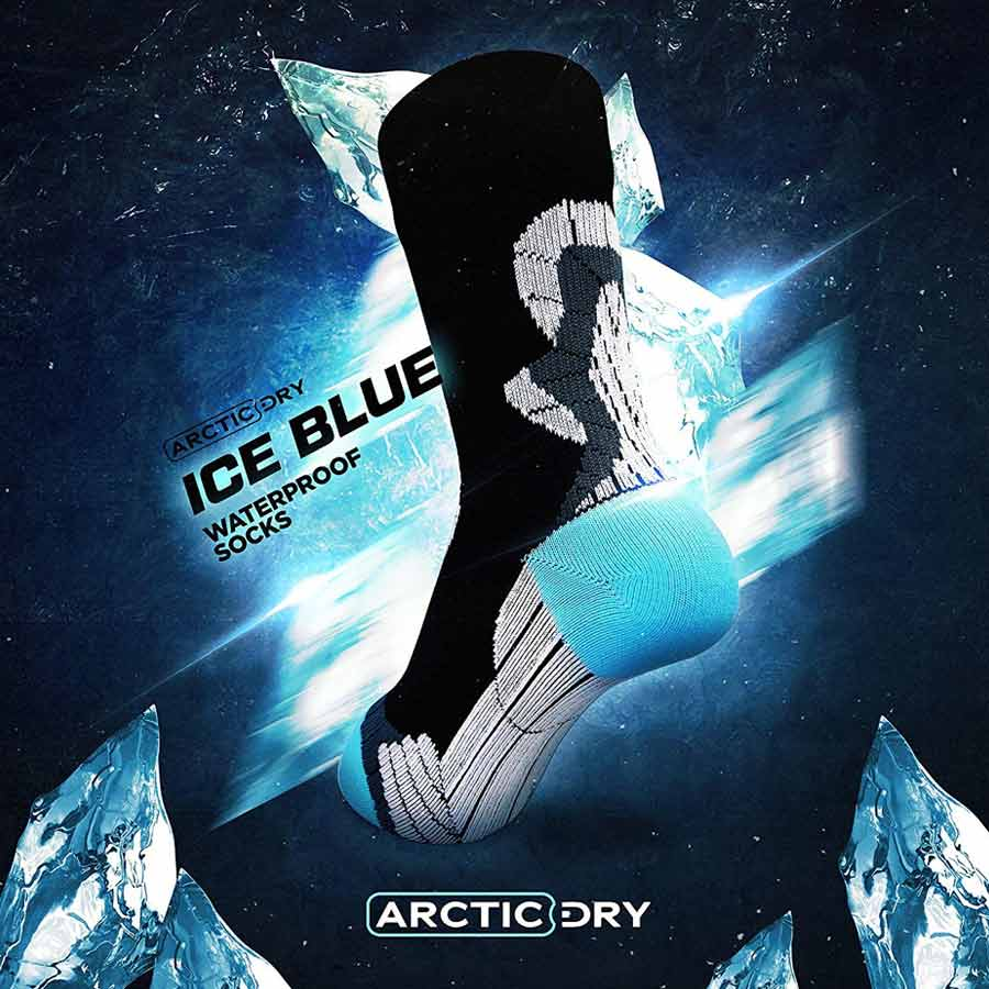 arcticdry-ice-blue-waterproof-socks-2