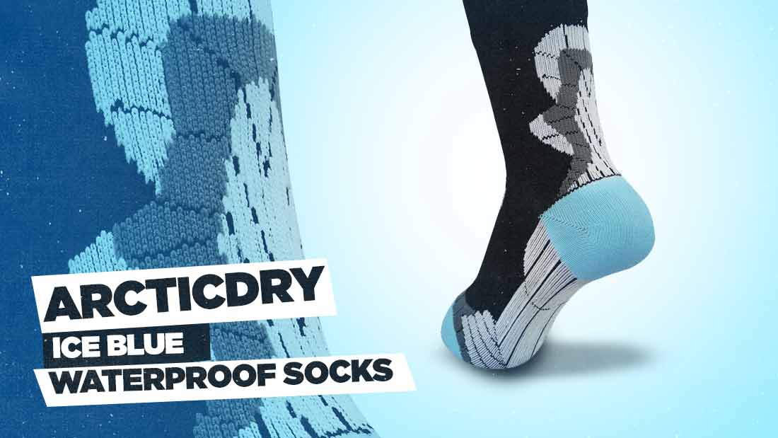 arcticdry-ice-blue-waterproof-socks