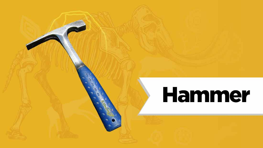 geological-hammer-fossil-hunting-equipment