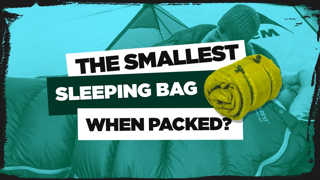smallest-sleeping-bag-when-packed